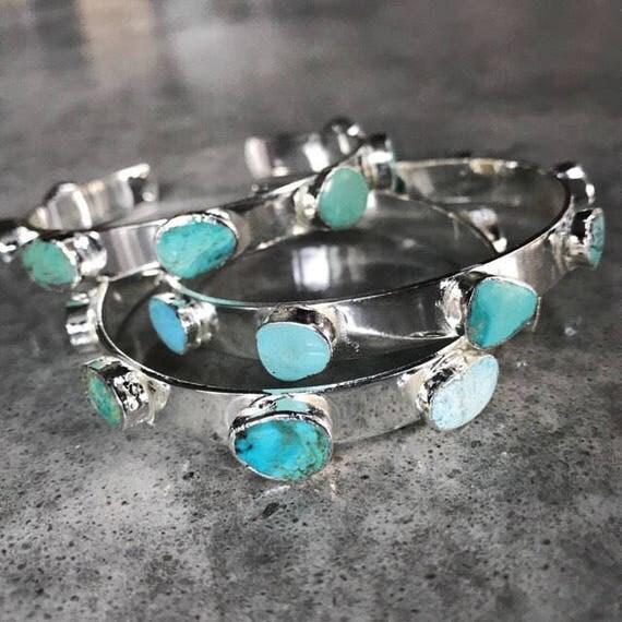 Turquoise Bracelets, Cuff Bracelets, Turquoise jewelry, birthstone jewelry, Boho jewelry, boho wedding