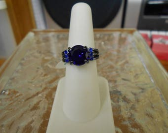 Beautiful Romantic Gothic Victorian Ring-Size6-R701