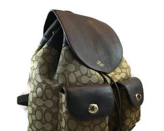 ONE MADE!!  COACH Backpack Camera Bag    Padded Dslr Backpack for Women