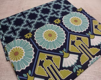 A5 Bullet Journal Cover - In Joel Dewberry fabric