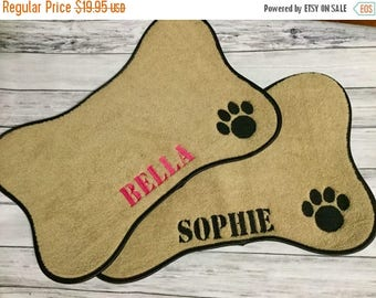 ON SALE Pet Placemat, Pet mat, Personalized dog Mat, Pet feeding bowl Mat, dog feeding bowl mat, Pet gifts, New dog gifts,  Dog placemat