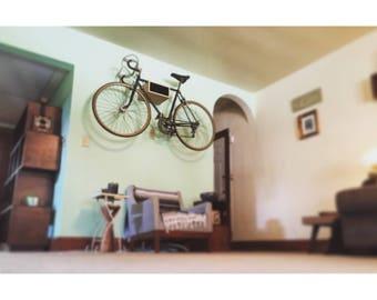 The D-Town Bike Shelf // Bike Rack // Reclaimed Wood