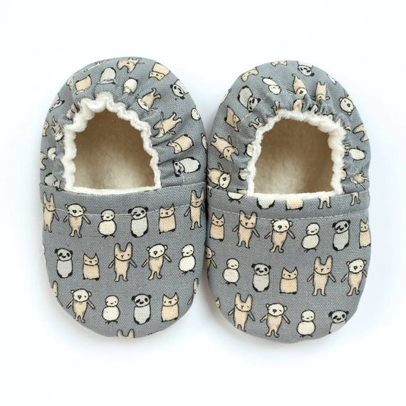 Tiny Animals Soft Sole Vegan Baby Shoes