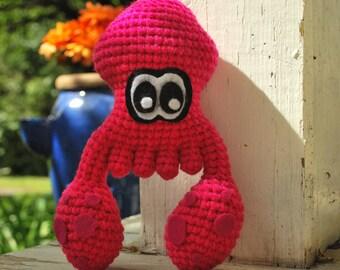 Crochet Little Splatoon Squid