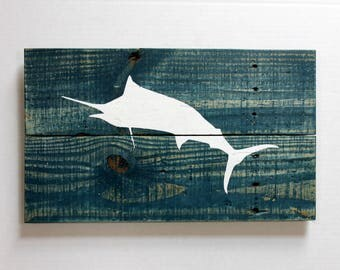 Fish Wall Art rustic fish art | etsy