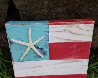 4th of July Beach Flag