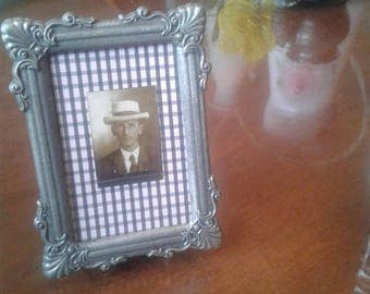 Vintage Frame With Antique Photo