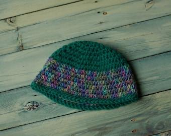 Crochet Girl's Beanie Newborn