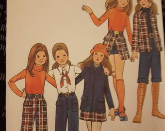 Butterick 6423, Vintage Girl's
