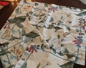 Williamsburg Crown Craft-Magnolia Garden Pillow Shams Case Cover-Bedding