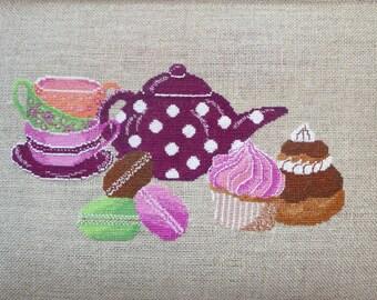 Gourmet tea CM 1304 Embroidery Kit