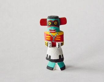 Vintage Hopi Route 66 kachina – miniature kachina doll – Hopi kachina – Route 66 kachina – signed Pooley kachina