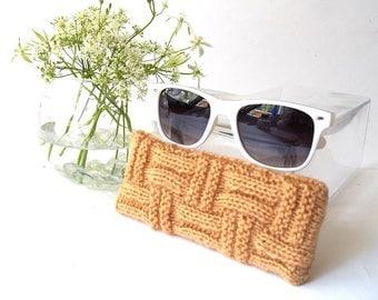 Brown Glasses Case. Eyeglasses Case. Eyeglasses Holder. Sunglasses Case. Reading Glasses Case. Spectacles Case.