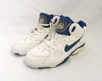 vintage nike women's air transition force 3/4 basketball shoes size 9 deadstock NIB 1993