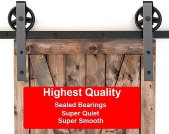 barn door hardware kit diy complete kit minus rail sliding barn door kit no rail