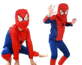 Amazing Spiderman costume kids toddler 3d costumes Spiderman