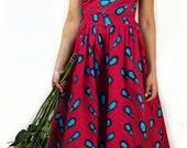 REIN  - African Print Maxi Skirt and Top Set  SM- XL
