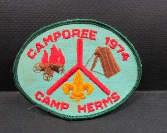 Boy Scout  patch 1974