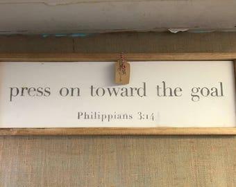 READY TO SHIP- Philippians 3:14