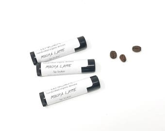 Organic Lip Butter   Mocha Latte   Handmade   Fall   Gift