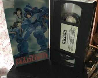 Metal Skin Panic Madox-01 80s anime movie vhs