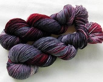 Handdyed SockYarn, 75 Wool, 25 Nylon 100g 3.5 oz. Nr. 159
