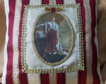 """PORTRAIT of NAPOLEON I"" pillow cover"