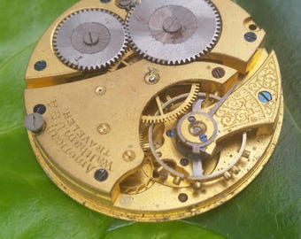 Vintage Pocket Watch Movement #6