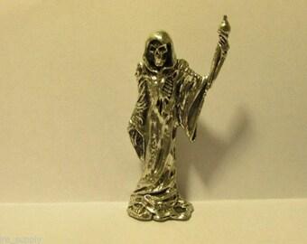 Pewter Grim Reaper Figurine