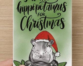 A Hippopotamus for Christmas - A Tribute to Fiona
