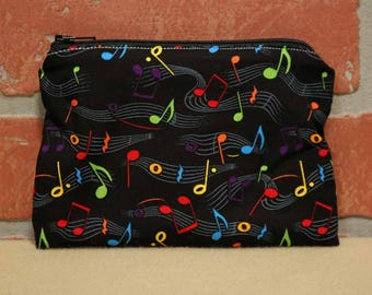 One Snack Sack, Music, Reusable Lunch Bags, Waste-Free Lunch, Machine Washable, Back to School, School Lunch, item #SS56
