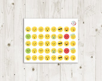 Emotion Face Stickers  - ECLP Sticker