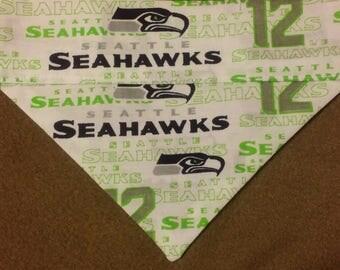 SALE! Seattle Seahawks Dog Bandana!!