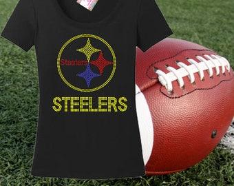 Rhinestone SteelersI nspired Tshirt