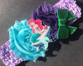 The little mermaid headband