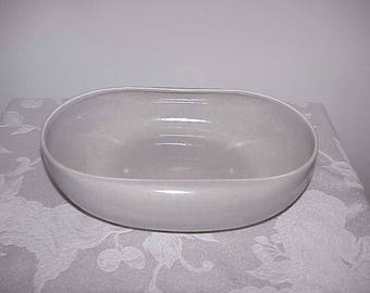 Russell Wright Granit Gray Oval Vegetable Bowl EUC