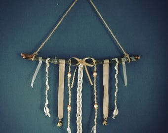Natural Hand Sewn Wind Chime