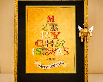 Merry Christmas and Happy New Year-PosterCard-Maxi