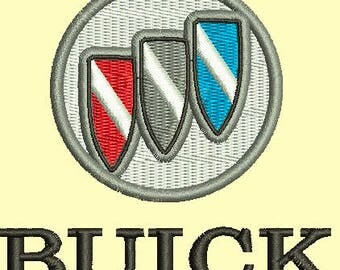 Buick Emblem Machine Embroidery Design instantly download