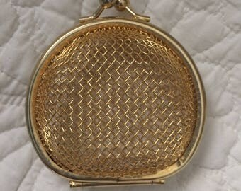 Gold Cage Coin Purse