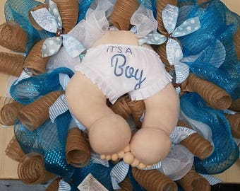 Its a boy Wreath