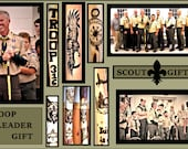Scout leader gift,Scout gift,hiking stick,walking stick,scout troop