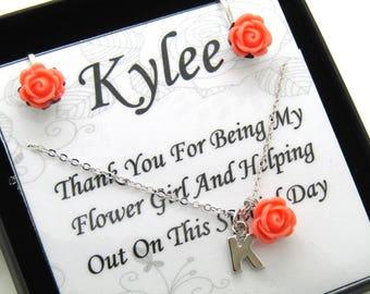 Flower Girl Jewelry Sets