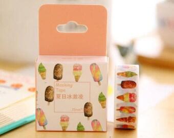 Ice Cream Washi Tape / Cupcake Washi Tape/ Sweet Desserts Washi Tape