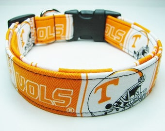 Tennessee Vols Volunteers College Dog Collar