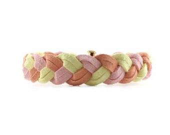 NEW Braided Bracelet in Mimosa