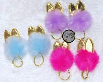 Faux Fur Bunny Ear Headband