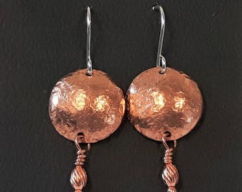 Shield Earrings (Embellished)
