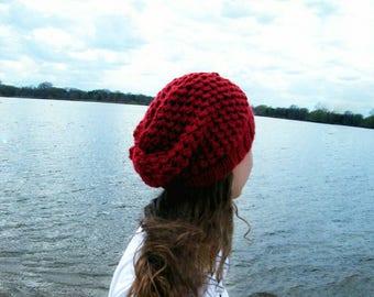 Slouchy Beanie Hat Women Crochet Slouchy Beanie Women Slouchy Hat Women Slouch Hats Crochet Women Hat  THE FRANKIE