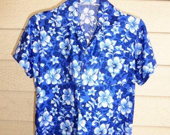 Boys Size 8 -10 Hawaiian Costume Shirt, Boys Hawaiian Shirt, Dancewear, Skatewear, Boys Leotard, Special Occasion, Free Shipping